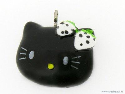 Hello Kitty, zwart kopje