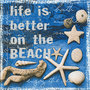 P+D servet Life is better at the beach, 33x33cm, design 200033