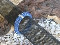 Facet-geslepen-kralen-3-rijen-elastisch-jeansblauw