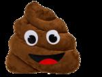 Mega-pluche-kussen-Poo-50-cm
