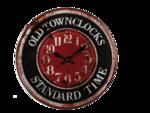 Metalen-retro-klok-Old-Town-Clocks