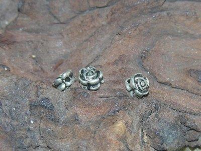 Bloem, 7mm, zilverkleur