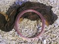 Aluminium draad plat 3,5x1 mm, rose