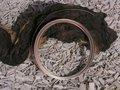 Aluminium draad plat 3,5x1 mm, chocolate bruin