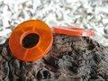 Grote ring, 52mm, oranje