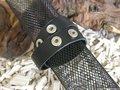 Easy Button armband, 40cm, zwart