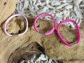 Haarelastiekjes ca 65 stuks, 45mm, 3 roze-tinten